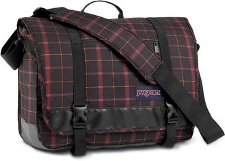 JanSport throttle plaid 15-in. laptop messenger bag