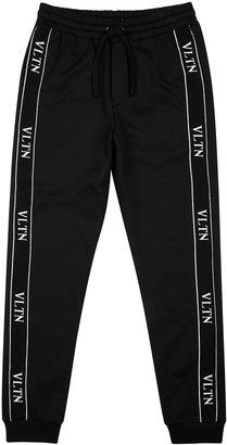 Valentino VLTN Black Cotton-blend Sweatpants