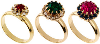 Asos Limited Edition Jewel Ring Pack