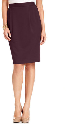 Elementz Skirt, Ponte-Knit Pencil