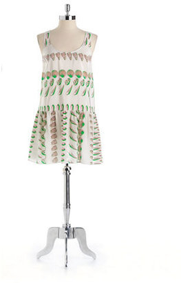 Amanda Uprichard Silk Seashell Dress