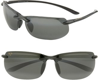 Maui Jim Banyans PolarizedPlus(R)2 67mm Rectangle Sunglasses