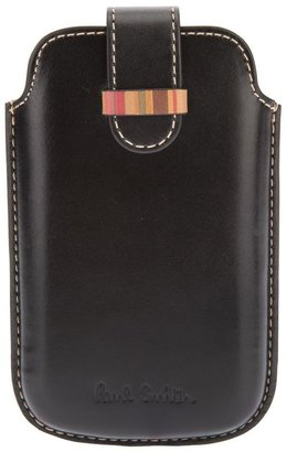 Paul Smith logo embossed iPhone case