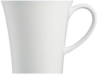 Crate & Barrel White Pearl Mug