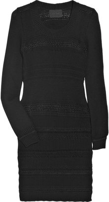Clare Tough Wool and cashmere-blend sweater dress