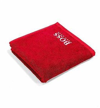 HUGO BOSS Finest Egyptian cotton face cloth with logo embroidery