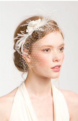Cara 'Whispering Flower' Veil Hair Comb