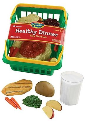 Learning Resources Pretend & Play Healthy Dinner Basket