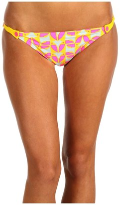 Marc by Marc Jacobs Tou Can Do It Buttoned Tab Bikini Bottom (Dusty Sage) - Apparel