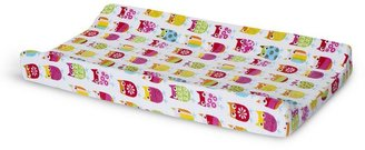 Zutano owls changing pad cover