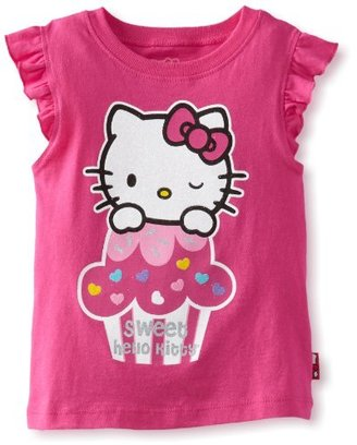Hello Kitty Girl's Screen Print Tee