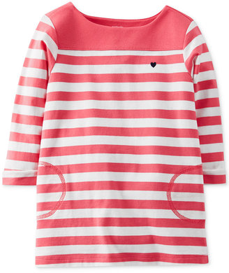 Carter's Little Girls' Striped Tunic