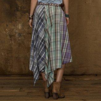 Denim & Supply Ralph Lauren Long Handkerchief Skirt