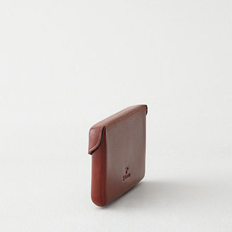 Il Bussetto business card holder with snap