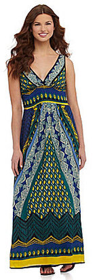 Angie Printed Maxi Dress