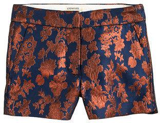 J.Crew Girls' Frankie short in copper bloom jacquard