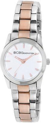 BCBGeneration Watch, Women's Two-Tone Bracelet 28mm GL4198
