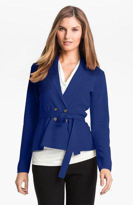 Classiques Entier Peplum Sweater Jacket