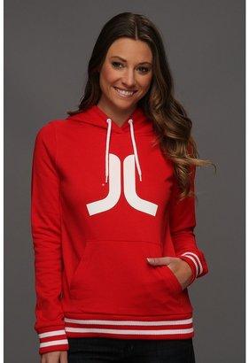 Wesc Icon Classic Sweatshirt (Blood Red) - Apparel