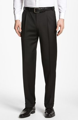 Men's Canali Pleated Trousers $325 thestylecure.com