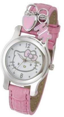 Hello Kitty Women's HK1747 Analogue Pink Strap Watch $35 thestylecure.com