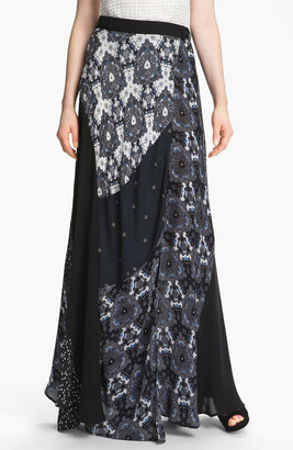 A.L.C. 'Brixton' Silk Wrap Skirt