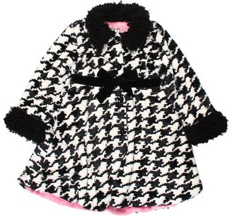 Widgeon Kids Poodle Trim Coat and Hat Set (Toddler/Little Kids/Big Kids) (Urban Houndstooth) - Apparel