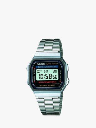 Casio Unisex Vintage Bracelet Strap Watch