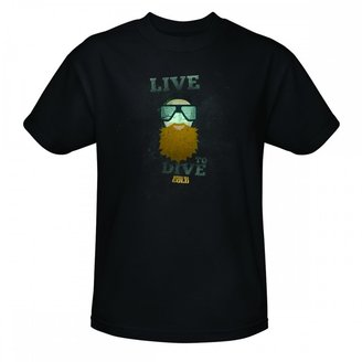 Discovery Bering Sea Gold Live to Dive T-Shirt - Black