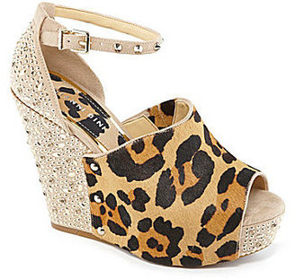 Gianni Bini Caylee Ankle-Strap Wedges