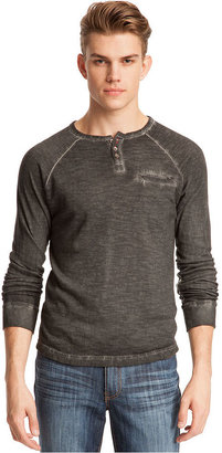 Kenneth Cole Reaction Shirt, Garment Dyed Henley