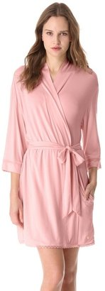 Juicy Couture Robe with Lace Trim
