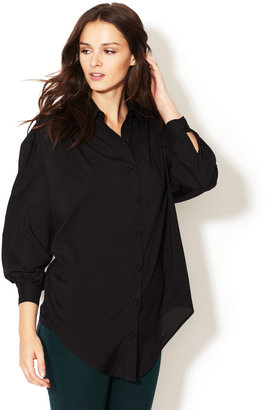 Hunter Dixon Libertine Button Down Silk Blouse