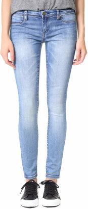 Blank Denim Skinny Jeans $75 thestylecure.com