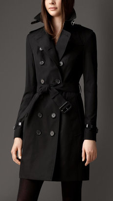 Burberry Long Slim Fit Trench Coat
