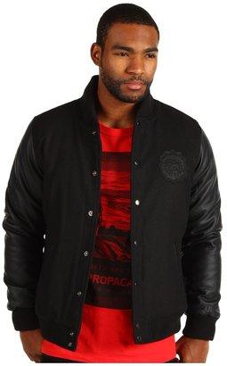 Obey Keith Haring Varsity Jacket (Black) - Apparel