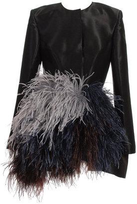 Roksanda Ilincic Ostrich feather coat