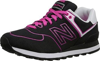 New Balance Women's WL574 Neon Pack Sneaker