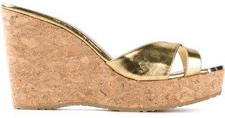 Jimmy Choo 'Perfume' wedge sandals