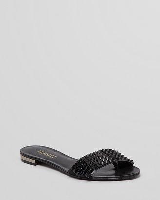 Schutz Studded Sandals - Akylia