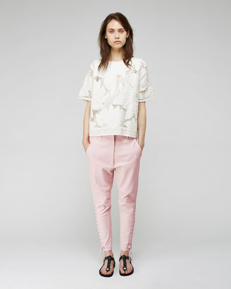 Isabel Marant Curtis Lace-Up Leather Pant