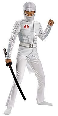 JCPenney Asstd National Brand G.I. Joe Retaliation Storm Shadow Classic Light-Up Muscle Childs Costume