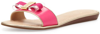 Kate Spade Alicia Bow Slide Sandal, Pink