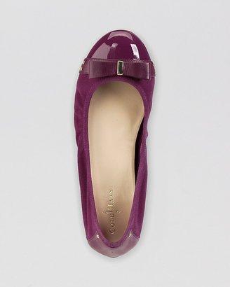 Cole Haan Cap Toe Ballet Flats - Air Monica