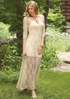 Alloy New Mode Rosie Lace Maxi Dress