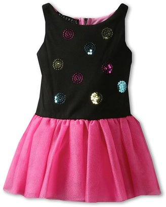 Biscotti Out Of This World Tutu Dress (Toddler) (Black/Pink) Girl's Dress