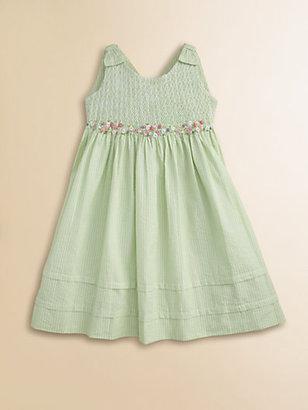 Hartstrings Toddler's & Little Girl's Striped Seersucker Dress