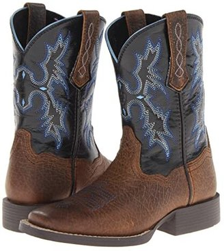 Ariat Tombstone (Toddler/Little Kid/Big Kid) (Earth/Black) Cowboy Boots