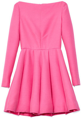 Valentino Preorder Framboise Crepe Couture Dress