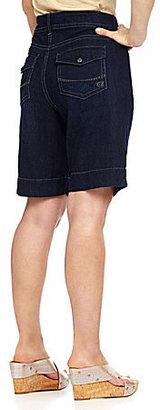 Code Bleu Woman Celie Denim Bermuda Shorts
